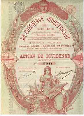 La Coloniale Industrielle  1899  HOCHDEKO