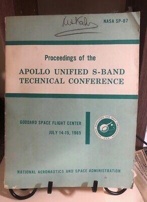 RARE NASA MANUAL! Apollo Unified S-Band Tech Conference