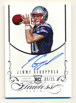 2014 Flawless Jimmy Garoppolo Rookie Auto 49Ers  8 25 Rare Rc From  1 200 Pack