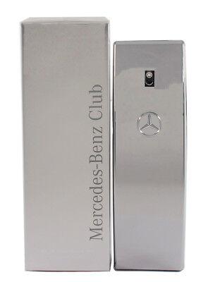 Mercedes Benz Club For Men 3 4 3 3 Oz Edt Spray New In Box