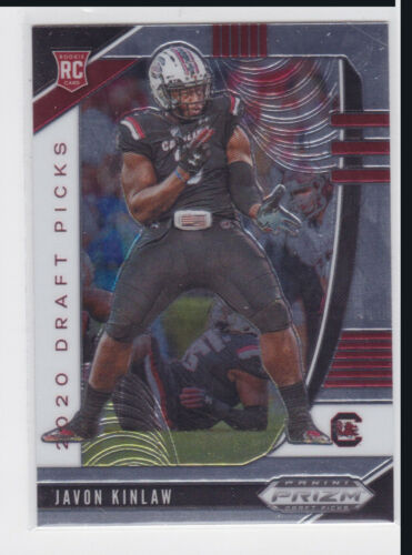 2020 PANINI PRIZM NCAA DRAFT PICKS SAN FRANCISCO 49ERS JAVON KINLAW RC NO. 161