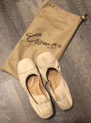 Crown by Born Womens Flats Sz 7.5 Tan All Leather