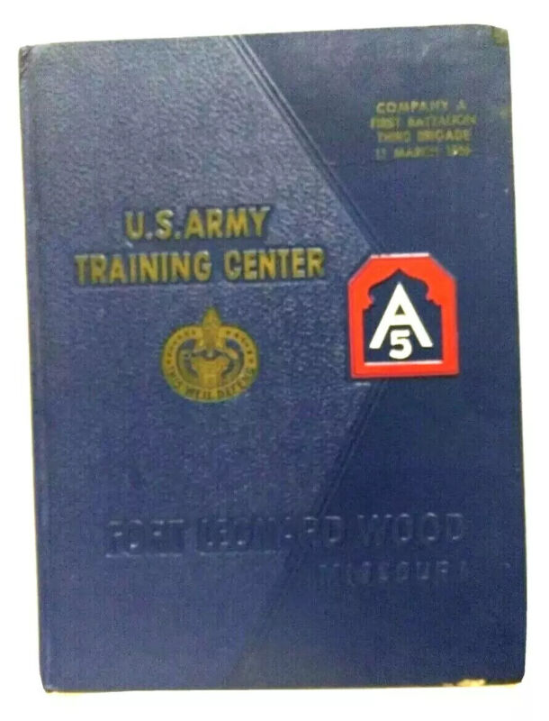 Fort Leonard Wood MO Yearbook US Army Training Center Company 106 pp Mar. 1966