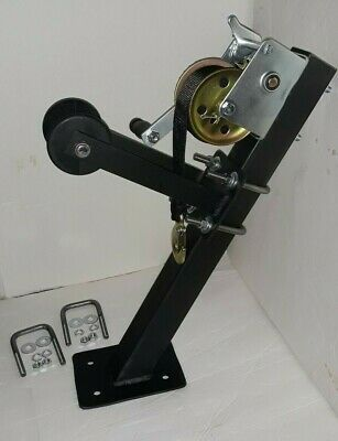 Adjustable V Hull Jon Boat Jet Ski Trailer Winch/Strap Roller Combo Post Package