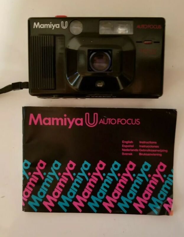 Rare Mamiya U CAMERA (AUTOFOCUS model) Works