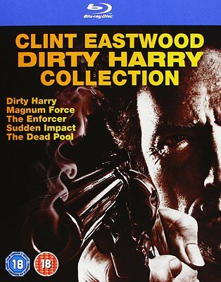 ECTION CLINT EASTWOOD UNCUT BLU-RAY DEUTSCH NEU OVP (Dirty Harry)