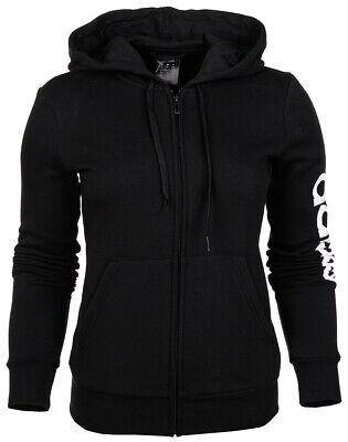 Adidas Women Fitness Hoody Essentials Linear Full Zip Hoodie