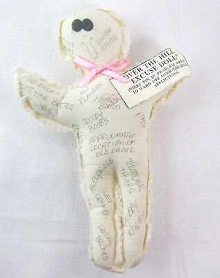 Over The Hill Excuse plush voodo Doll 9