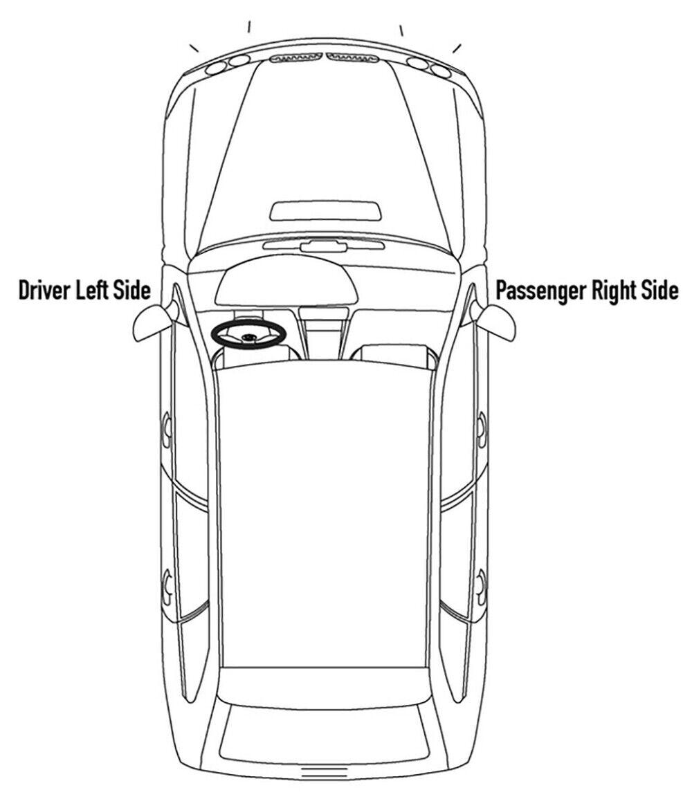 For 2005-2007 Chrysler 300 2.7L/3.5L Eng Model Headlight