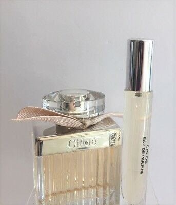 CHLOE BY CHLOE EAU DE PARFUM  .33OZ (10ML) TRAVEL ATOMIZER PERFUME SPRAY SAMPLE
