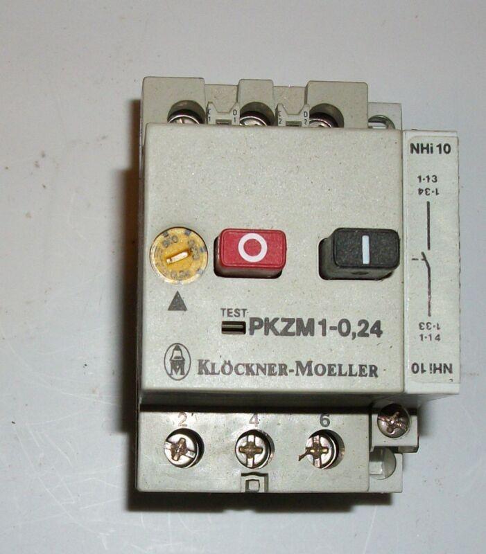 Klockner-Moeller PKZM 1-0,24 Contactor T19480
