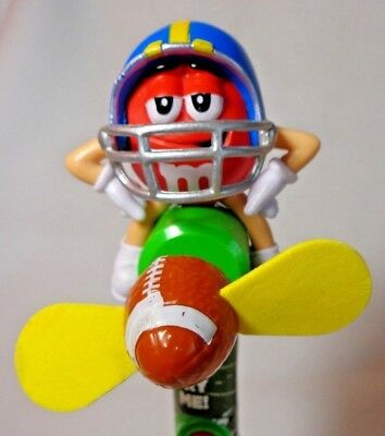 M&M's Red M&M Football Player Personal Fan - Personalized M&m