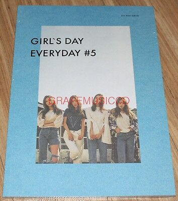GIRL'S DAY EVERYDAY #5 5th Mini Album K-POP CD + PHOTOCARD + POSTER IN TUBE NEW