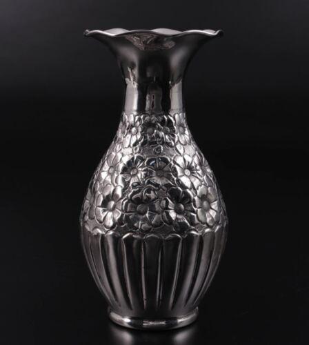 Antique Turkish 900 Silver VASE Islamic Ottoman