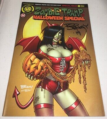 Zombie Tramp Halloween Special #1 Regular Cover signed by Bill Mckay