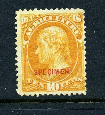 Scott #O5S Agriculture Dept Official Unused Specimen Stamp (Stock #O5-8)