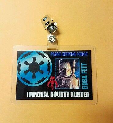 Star Wars Id Abzeichen - Imperial Bounty Hunter Boba Fett Stütze Cosplay - Bounty Hunter Kostüm