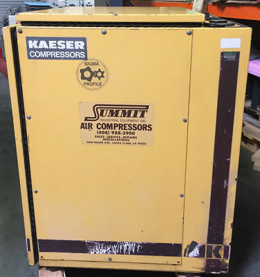 Kaeser Sk19 Rotary Screw Air Compressor 64 Cfm 15 Hp3 Ph 220v