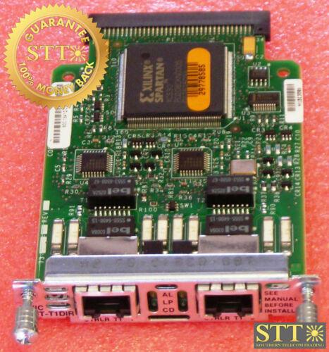 Vwic-2mft-t1-dir Cisco Dual T1 Fract Multiflex Interface Card