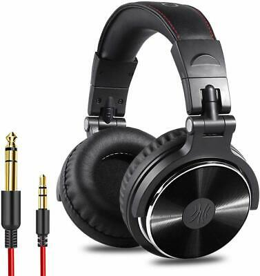 Closed Back DJ Headphone Professional Studio Stereo Monitor Noise -