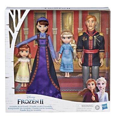 New In Box Disney Frozen 2 Arendelle Royal Family Queen King Anna Elsa