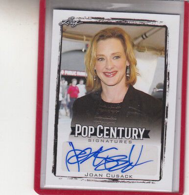 2017 Leaf Pop Century Joan Cusack  Working Girl In And Out Autograph Auto