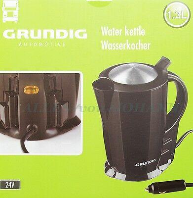 NEU GRUNDIG für LKW-Fahrer 1.3 L 24V 250Watt Wasserkocher Wasser Kocher