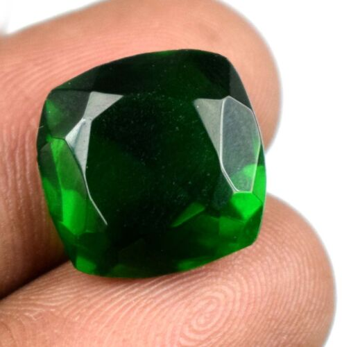 Loose Gemstone 11.35 Ct Cushion Muzo Colombian Emerald Natural Certified G2234