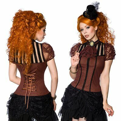 Steampunk Damen Bluse