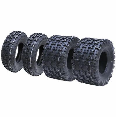 Slasher ATV quad tyres 20x11.00-9 & 21x7.00-10 6 ply Wanda legal WP02, Set of 4.