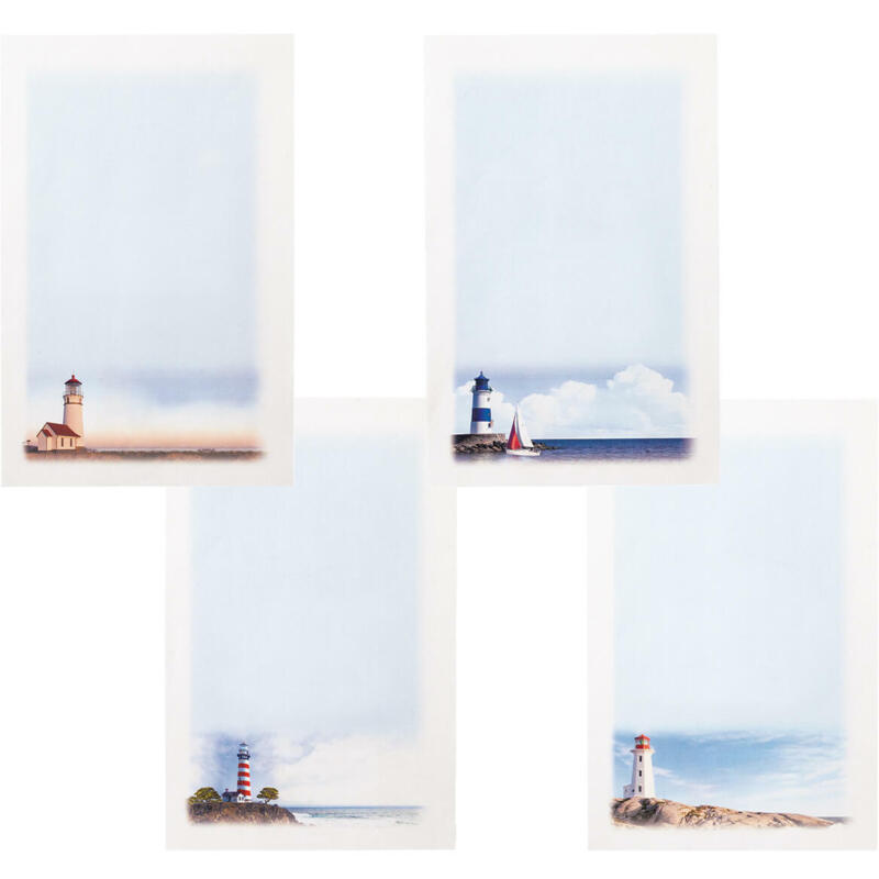 Tranquil Lighthouse Stationery Set, Tranquil Lighthouse