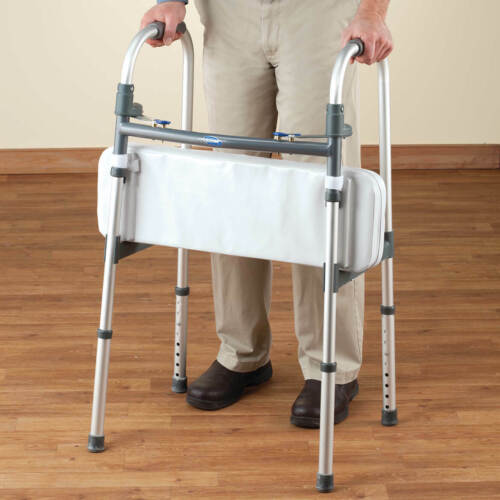 """Walker Rest Seat- Attachable Seat for Folding Walker Supports up to 250 lbs. 25"""""""