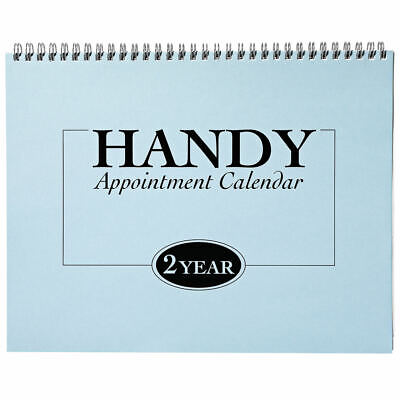 2-Year Appointment Calendar Planner, 2020-2021 Monthly Sched