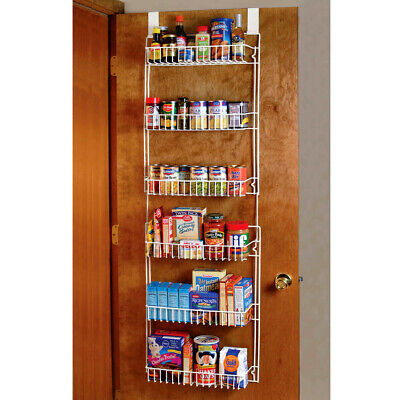 Over the Door Storage Spice Rack Kitchen Space Saver Pantry Shelf Organizer ()
