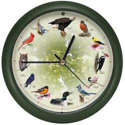 Singing Bird Clock Approximately 8 dia, Freeship