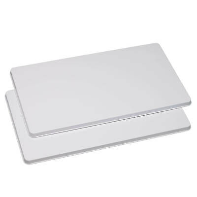 White Electric Stove - Electric Burner Covers Rectangle Stove Top Kitchen WHITE ALMOND BLACK Set of 2