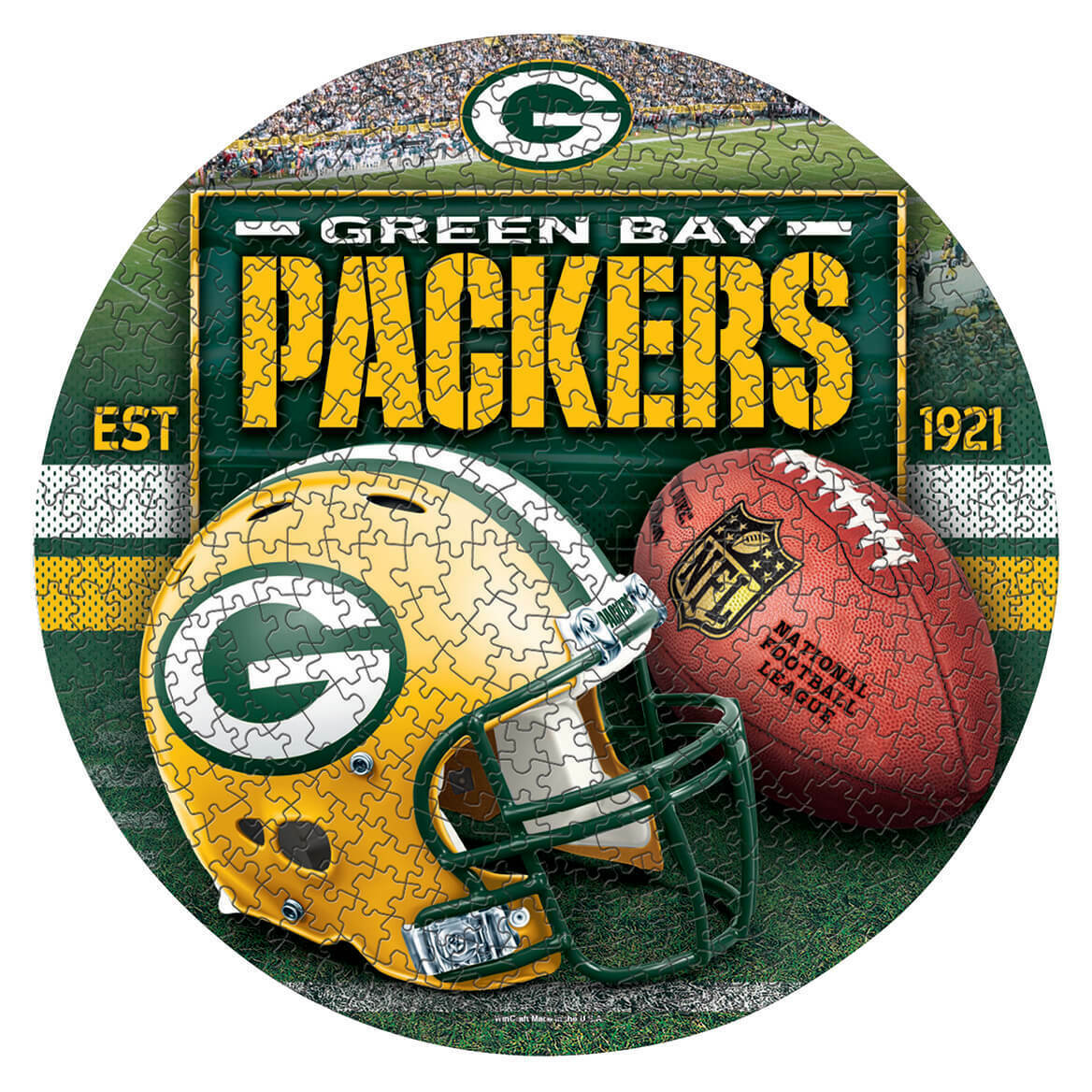 nfl-team-round-500-piece-puzzle-nfl-gb-packers
