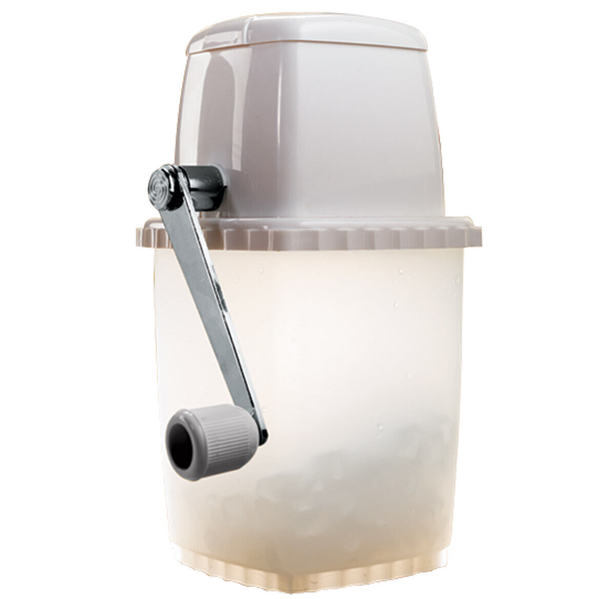 Portable Ice Crusher, Seven Stainless Steel Blades, Quick, E
