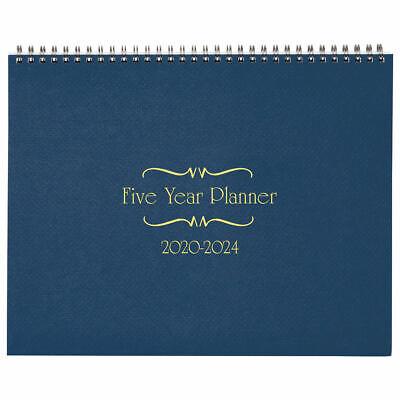 5-year Calendar Planner 2020-2024 Monthly Schedule Organizer Flip Calendar