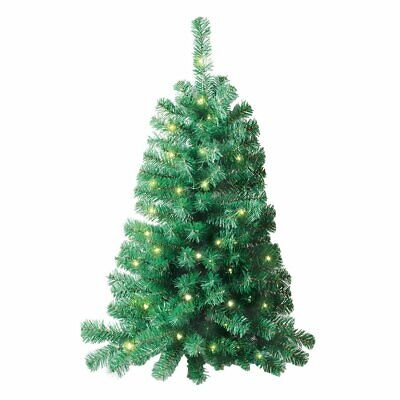 Wall Hanging Christmas Trees 3 Ft Lighted Wall Mount Christmas Tree Xmas Decor