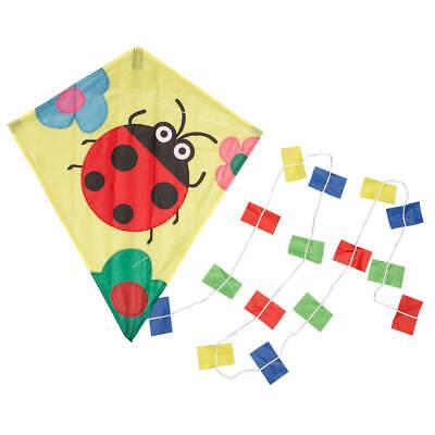 Miles Kimball Children's Ladybug Kite, Colorful Kite for Kids, Ladybug