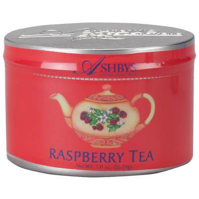 Ashbys of London  Loose Leaf Tea - 2oz Tin - Raspberry