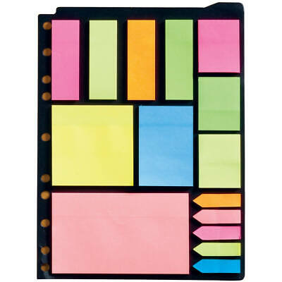 Post It Style Sticky Note Paper 3 Ring Holder Sheet