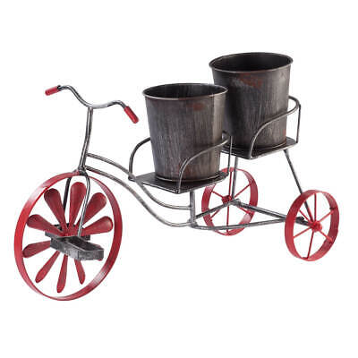 Metal Bicycle Planter by Fox River -