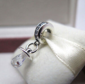 Genuine Pandora DUMMY PENDANT Pacifier Silver Charm Dangle