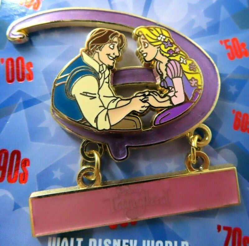 Disney Pin WDW - GenEARation D Countdown Collection - Tangled LE 500 #110346