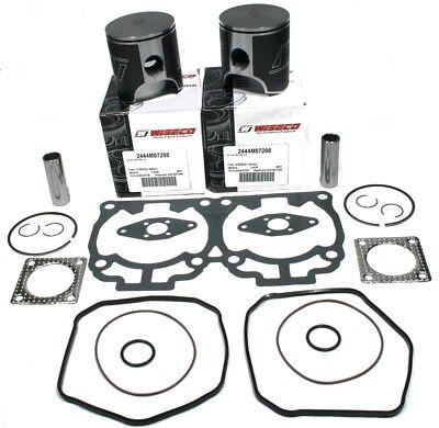 Ski-Doo Formula Deluxe 670 1999 Wiseco Std Pistons /& Gasket Set; Engine Rebuild
