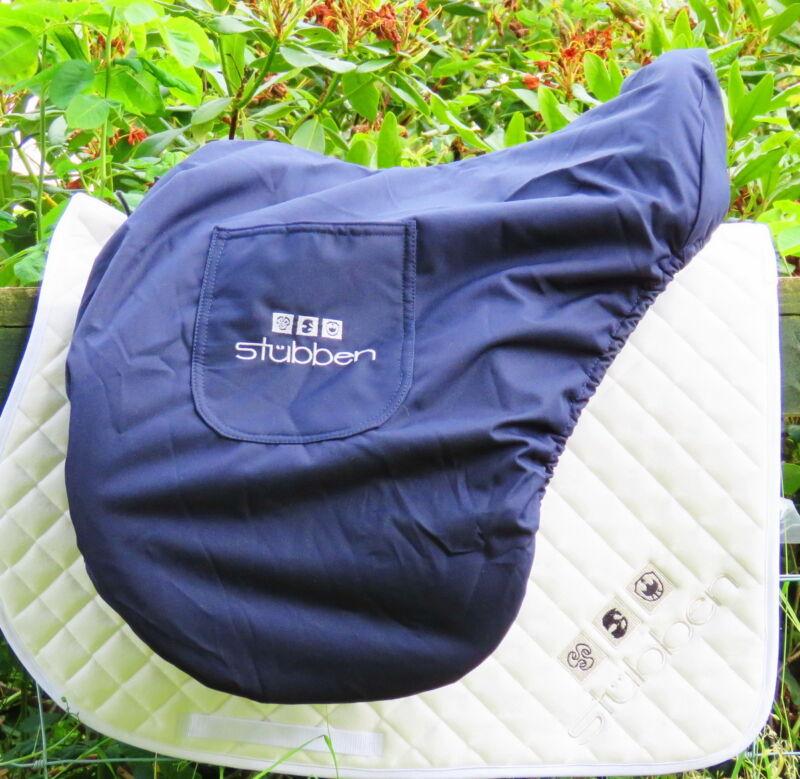 UNIQUE STUBBEN POSH Large WATERPROOF Saddle Bag Cover DRESSAGE JUMPING GP VSD AP