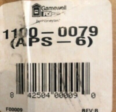 Fire Alarm Gamewell 1100-0079 Aps-6 New Open Box - Reduced