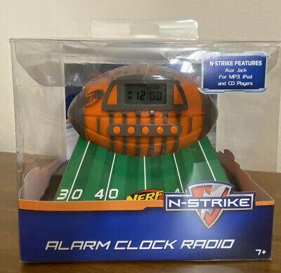 Nerf Football N-Strike Alarm Clock Radio